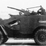 БТР-40А с 14,5mm ZPU AA Gun в армии Восточной Германии