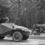 БТР-40 (SPW-40) Восточная Германия экспериментальное крепление ATGM Maljutka (Малютка) - на заднем плане BRDM 9P110 ATGM