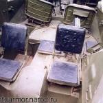 Места десанта бронетранспортёра БТР-40.